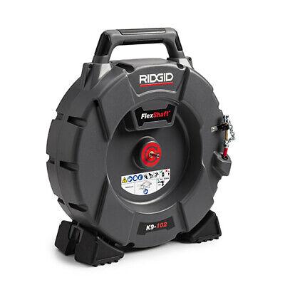 Ridgid K9-102 64263 Flexshaft Drain Cleaning Machine With 50 Cable