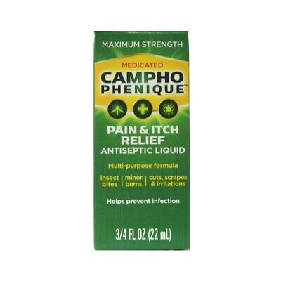 Campho-Phenique Pain Relieving Antiseptic Liquid, 0.75 oz Pain Relieving Antiseptic