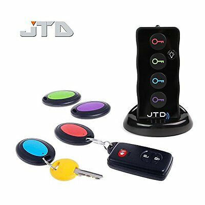 Remote Controls Wireless RF Item Locator/Key Finder With LED Flashlight And Base