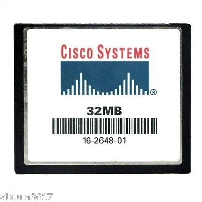 5x Cisco 32MB Flash or Compact Flash CF Card CCNA CCNP CCIE