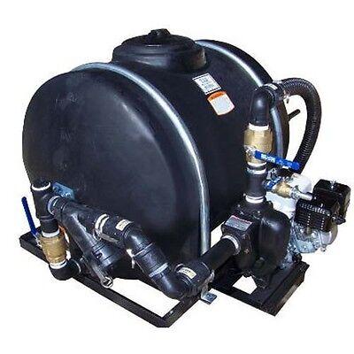 120 Gallon Sealcoating System Sprayer - Hand Agitated - Cast Iron Pump - Compact