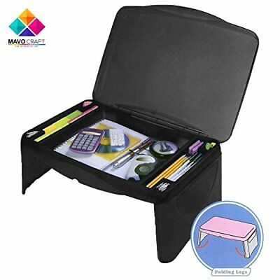 Folding Black Lap Desk, laptop stand, Workstation, Laptop lap desk, kids desk