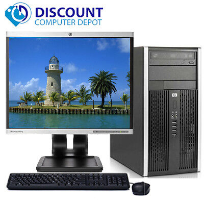 "HP Elite 8200 Desktop Computer Tower Intel i5 8GB 1TB 19""LCD Windows 10 Pro WiFi"