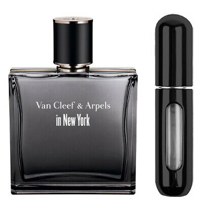 VAN CLEEF & ARPELS IN NEW YORK FOR MEN EAU DE TOILETTE 5ML SPRAY BLACK *