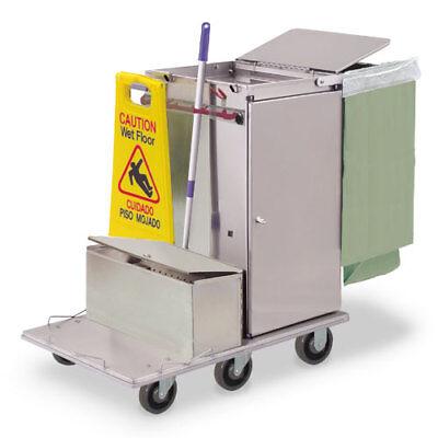 Royce Rolls F30-lst1e Stainless Steel Mini-size Microfiber Housekeeping Cart