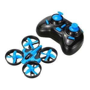 Brand New Mini Quadcopter Drone - Perfect gift, Easy to Fly, Safe, and Super Durable! Blue and Grey Colours in Stock
