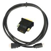 DVI Female to HDMI Male Cable