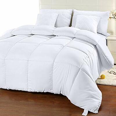 Heavy Comforter Goose Feather Down Warm King Blanket Best Large Winter