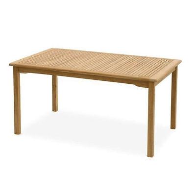 Carolina Gartentisch 140x60 Esstisch Holztisch Tisch Garten Eukalyptus Massiv