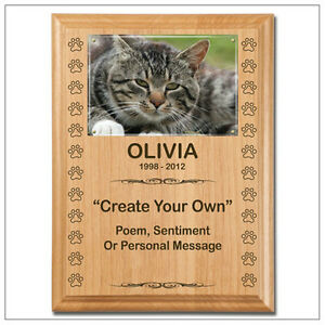Memorial Plaques - Engraved Wood Plaques For Pets London Ontario image 1