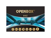 ★2018 OPENBOX V9S✮667 MHZ✮ NEW BUILT IN WIFI SAT/IPTV RECEIVER - 12 MTHS★£120★ COLLECTION PRICE