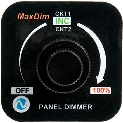 DUAL MAX DIM LIGHT INTENSITY CONTROL UNIT WITH SCREW TERMINALS FREE SHIPPING
