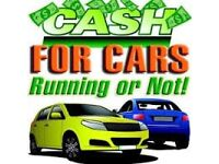 CASH FOR CARS RUNNING OR NOT!!!! £ SCRAP CARS&VANS £