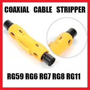 Coaxial Cable Stripper TTK046 Mays Hill Parramatta Area Preview