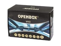 ✮INCLUDES BUILT IN WIFI ✮LATEST 2017 OPENBOX V9S NEW MOhDEL DVB-S2 HD - 12 MTHS ALL CHANNELS
