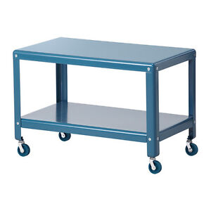 IKEA PS2012 Coffee table with wheels - Dark turquoise