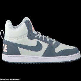Nike Womens Court Borough Mid Prem Trainers 844907 005 UK 4 EU 37.5
