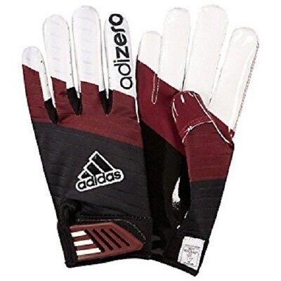 (Adidas Adizero Smoke Football Gloves Featuring Grip Tack For Intense Grip NEW!)