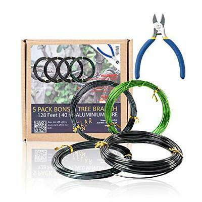 Bonsai Training Wire Set Of 4 Total 128 Ft 32 Each Size 3 1.0MM 1.5MM 2.0MM