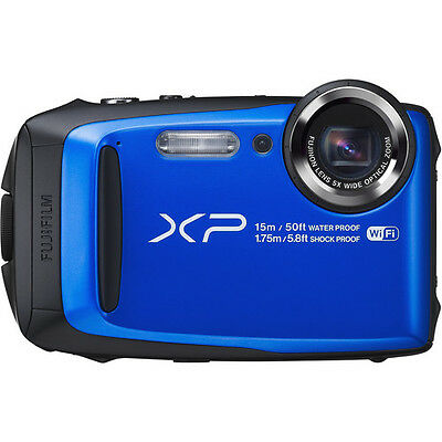 Fuji FinePix XP90 Shock & Waterproof HD Wi-Fi Digital Camera BLUE