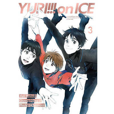 New YURI ON ICE vol.3 Blu-ray with Ticket case Booklet EYXA-11239 From JAPAN