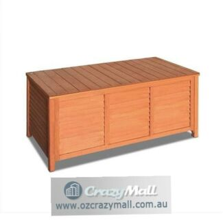 Quality Fir Wood Indoor Outdoor Bench Storage Box