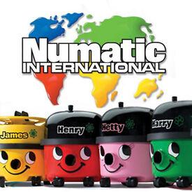 numatic hetty/henry vacuum cleaners
