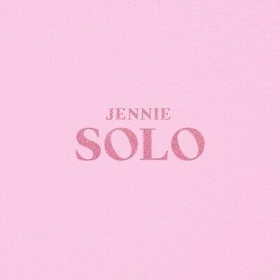 BLACKPINK Jennie-[Solo] 1st PhotoBook CD+Book+Lyrics Post+Card+Gift