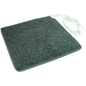 Tapis de pied chauffant /  Toes Carpeted Foot Warmer Heater