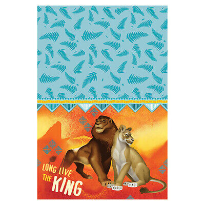LION KING PAPER TABLE COVER ~ Birthday Party Supplies Cloth Decorations 2019](Paper Table Cloth)