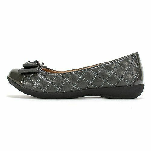 White Mountain Women's Flats Shoes Motel Quilted Ballerina 5.5M 1