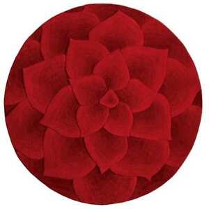 Pier 1 - Tufted Red Round Rug