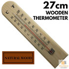 Wooden Temperature Outdoor Thermometers