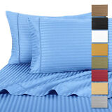 Hotel Life Deluxe 100% Cotton Sateen Bed Sheet Set by RC Collection