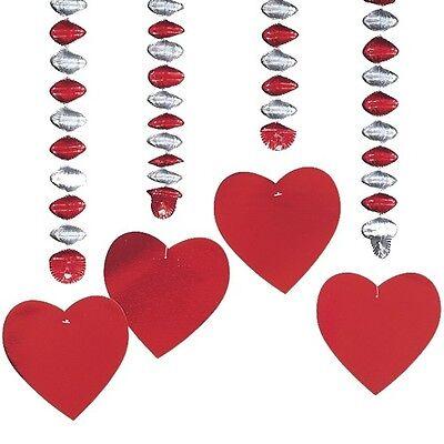 Valentinstag Girlande (4 Rotor-Spiralen
