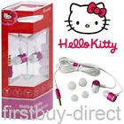 Pink Hello Kitty Earphones