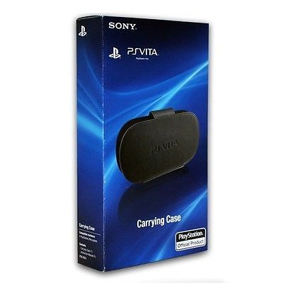 Official Sony PlayStation PS Vita Black Protective Carrying Case Kick Stand