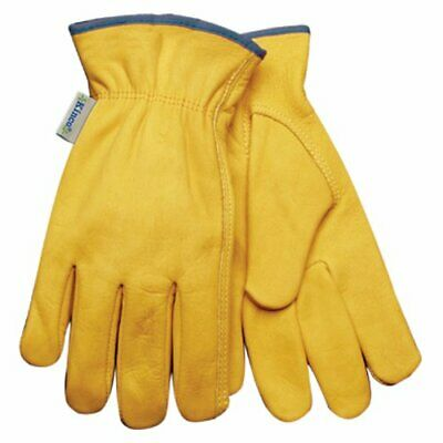 Kinco 98w-m Womens Unlined Grain Cowhide Leather Driver Gloves Size Medium