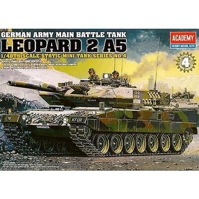 [Academy] Plastic Model Kit 1/48 Leopard 2 A5 German Main Tank (#13008)