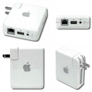 Apple AirPort Express 802.11n Wifi Router 1st Generation