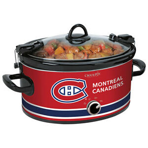 Crock-Pot NHL Montreal Canadiens Cook & Carry Manual Slow Cooker