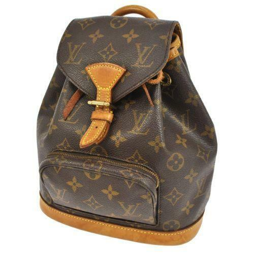 louis vuitton monogram backpack ebay. Black Bedroom Furniture Sets. Home Design Ideas