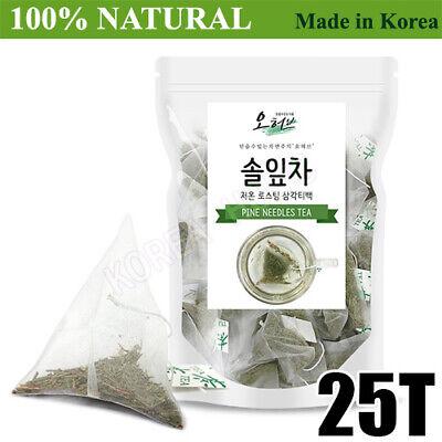 100% Natural Pine Needle Tea Medicinal Herbal 25Bags Medicinal Korean Herbal