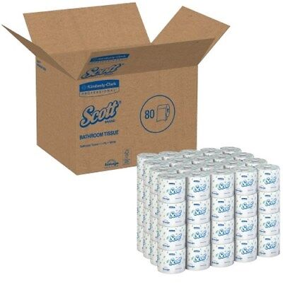 1 Ply Standard Roll - Scott Toilet Tissue White 1-Ply Standard SizeCored Roll 1210 Sheets 4X41