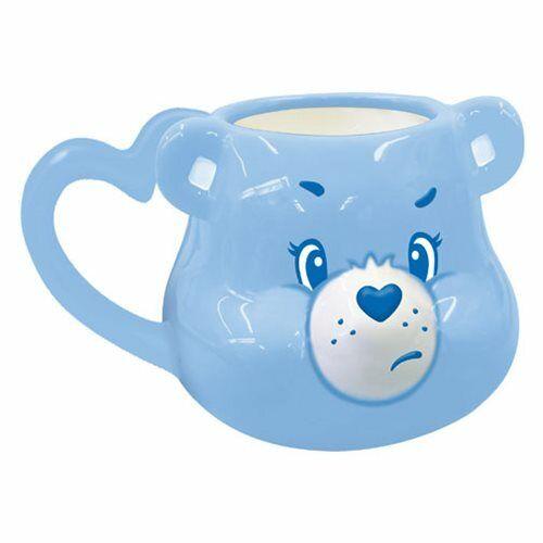 """Vandor Care Bears GRUMPY BEAR 7"""" Sculpted Ceramic Mug"""