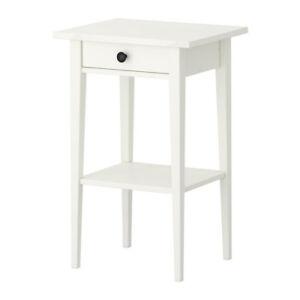 Hemnes Nightstand White