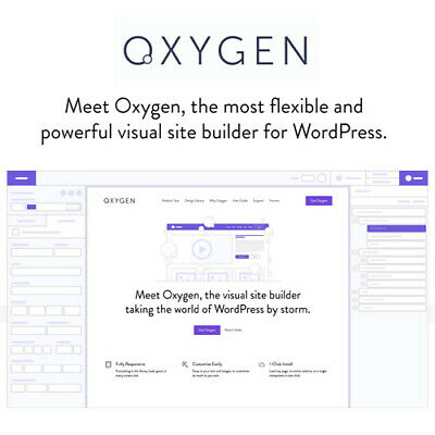 Oxygen 3.8 The Visual Website Builder - Gpl Wordpress Plugins And Themes