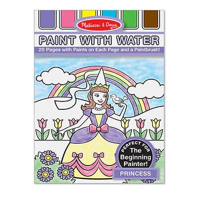Melissa and Doug - Paint with Water - Princess NEW * art craft activity toy