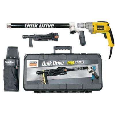 Quikdrive Pro250g2d25k System W Dewalt 2500 Rpm Motor