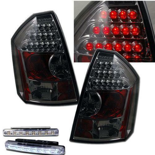 Chrysler 300 2006 Black Led Tail Lights: Chrysler 300C LED Tail Lights